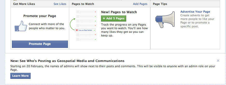 Facebook Pages Admin- See Who's Posting as .. to be rolled out from 20 Feb,2014