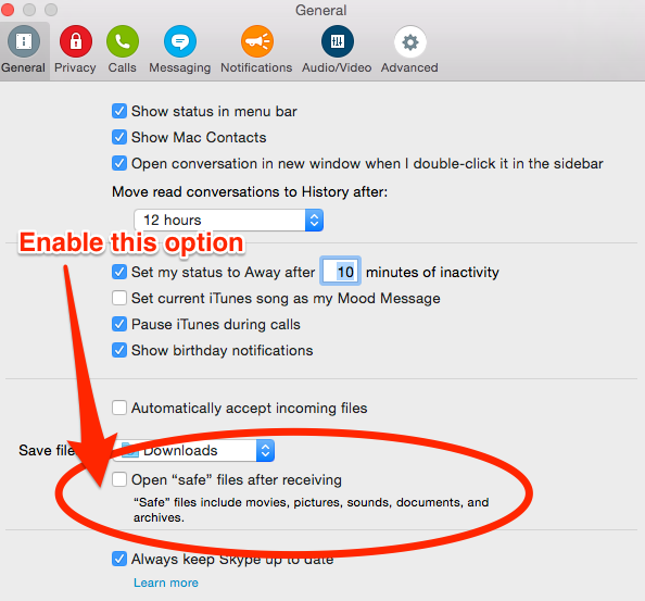 Skype for Mac does not open downloaded Images – Here is thesolution!